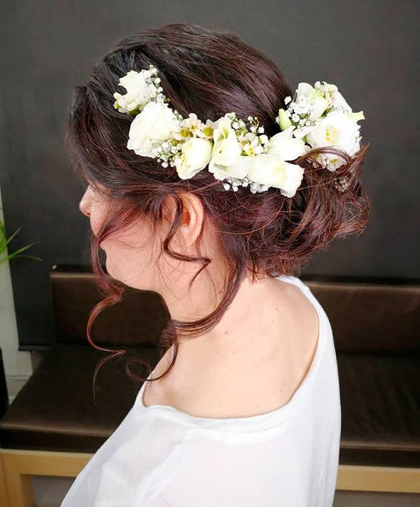peinados boda novia